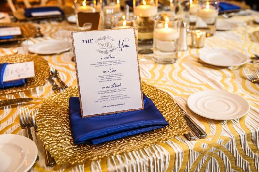 Menus by Perfect Planning Events