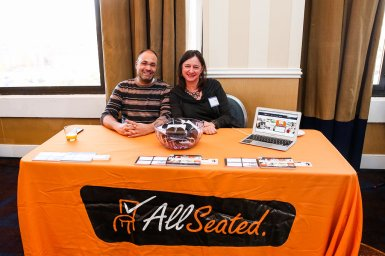 We were excited to have the team from AllSeated to join us at the conference