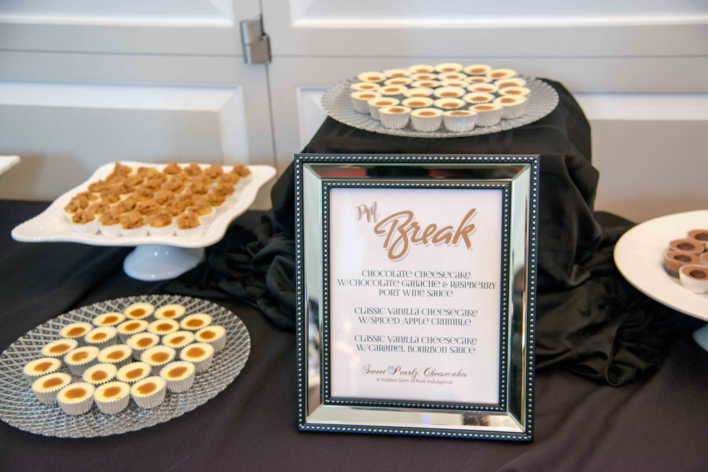 Break Sponsor, Sweet Pearlz Cheesecakes.