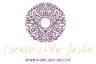 Creations by Sasha Main Logo Redesign AI