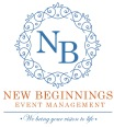 new beginnings event management logo